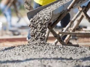 Concrete Being Laid